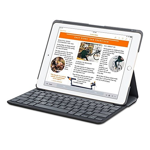 Logitech Canvas Keyboard CASE for iPad AIR 2 Tastatur (Logitech Tastaturen Für Ipad Air)