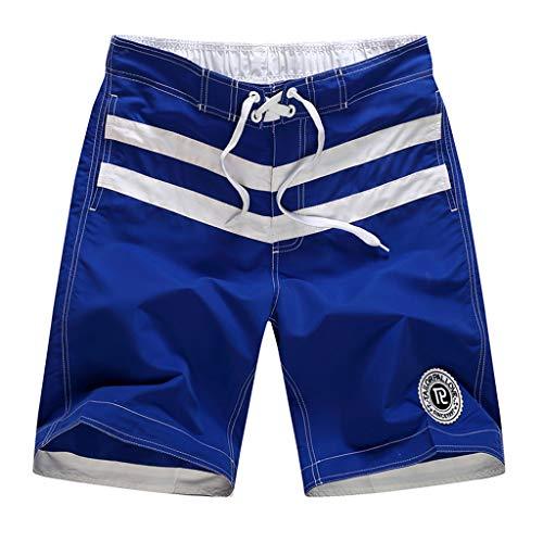Pantalones Cortos Hombre ZARLLE Hombres Pijama de satén de Seda Ropa de...