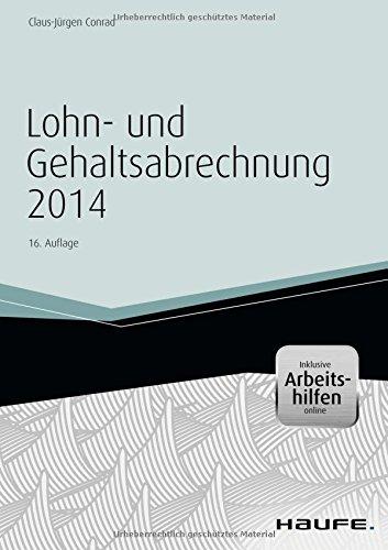 Lohn- und Gehaltsabrechnung 2014 - inkl. Arbeitshilfen online