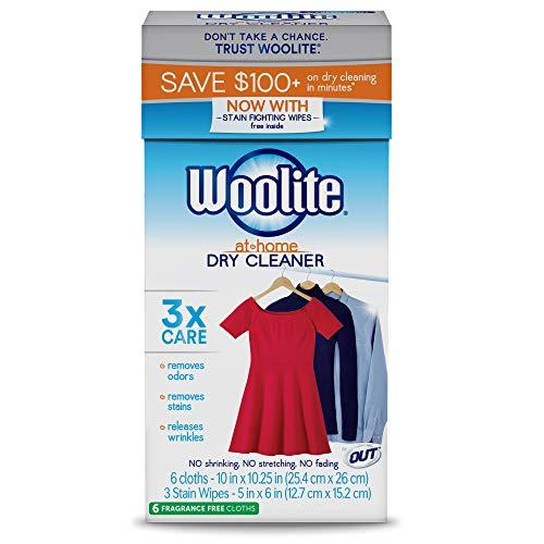 Woolite At Home Reinigung, frische Duft, 14Tücher, DCSFF04N -