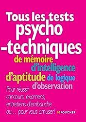 Tous les tests psychotechniques 2e édition