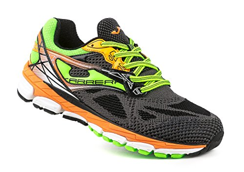 Joma - Carrera, color amarillo,negro, talla UK-8