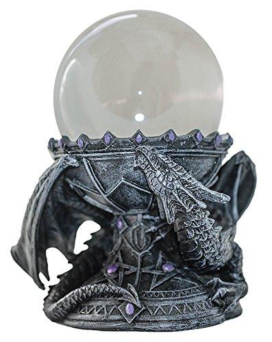 Raum der Stille Kristallkugelset Der Drachenkristall + 10cm Kristallkugel