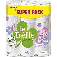 LeTrefle Maxi Feuille Cerisier du Japon Papier Toilettes 2 Voiles 18 Rouleaux