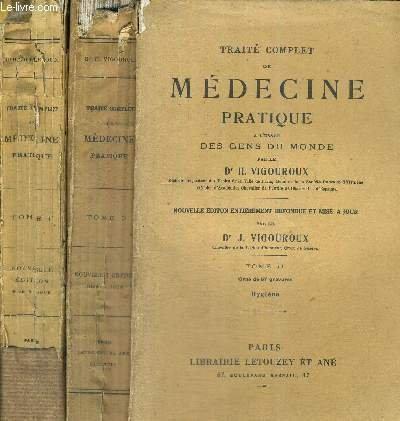 Traité complet de médecine pratique à l'usage des gens du monde. Tome IV Anatomie, physiologie, hygiene, pathologie, thérapeutique des organes de la reproduction.