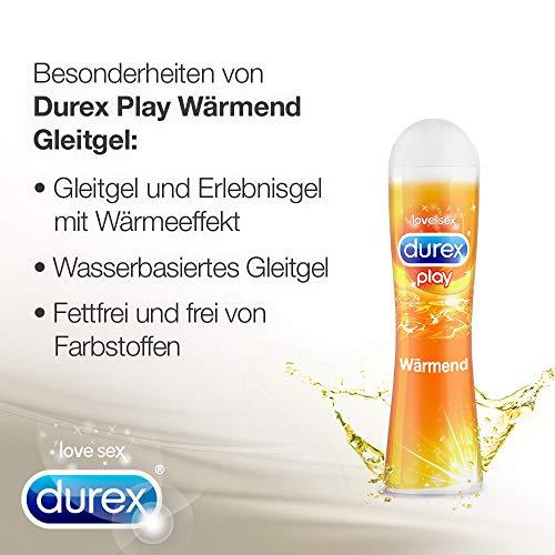 Durex Play Wärmend Gleit- und Erlebnisgel, mit wärmendem Effekt, 1er Pack (1 x 50 ml) - 3
