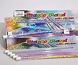 Une baguette magique avec des paillettes à l'intérieur - Pour les fées et les magiciens