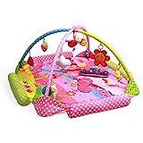 JYSPORT Alfombras de juego y gimnasios bebés animalitos gimnasio para manta de juegos manta juguetes educativos (bee)