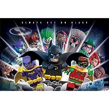 DC Comics LEGO Batman Boom Maxi Posters, Multicolour: Amazon co uk