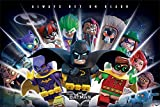 Poster Lego Batman - Always Bet On Black - 91.5 x 61 cm | PostersDE