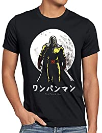 style3 One Punch Saitama T-Shirt Homme anime manga