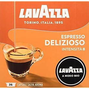 Lavazza Capsule Caffè A Modo Mio Espresso Delizioso - 2 confezioni da 36 capsule [72 capsule] 15