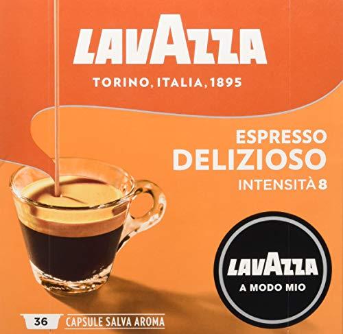 Lavazza Capsule Caffè A Modo Mio Espresso Delizioso - 2 confezioni da 36 capsule [72 capsule] 137
