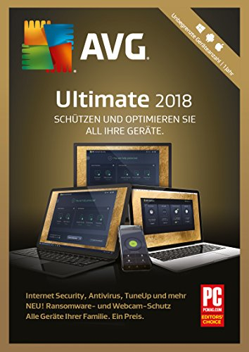 S.A.D AVG Ultimate (2018) unbegr. Geräteanzahl / 1 Jahr Software
