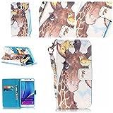 BONROY® PU Leder Schutzhülle für Samsung Galaxy Note 5 case