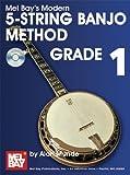 Munde Alan Modern 5 String Banjo Method Grade 1 Banjo Tab Book/2CD (Modern Method)