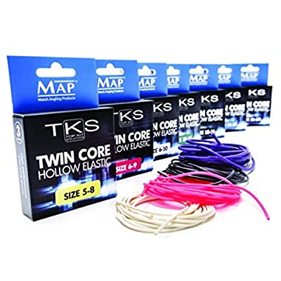 MAP TKS Twin Core Hollow Pole Elastic Size 10-14 (Green) by MAP