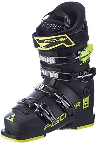 Fischer Fischser Kinder Skischuhe RC4 60 JR Thermoshape Black, 25.0