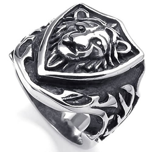 stainless-steel-rings-mens-bands-hield-biker-silver-gothic-lion-retro-size-r-1-2-epinki