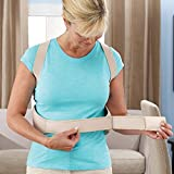 #9: ShoppoWorld Royal Posture Back Support Brace Corrects Slouching And Eases Pain - XL