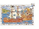Djeco Puzzle Suchspiel Piraten 100 teilig