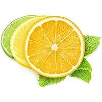 drawihi fruta cóctel limón artificial decoración hogar decoración 5pcs (amarillo))