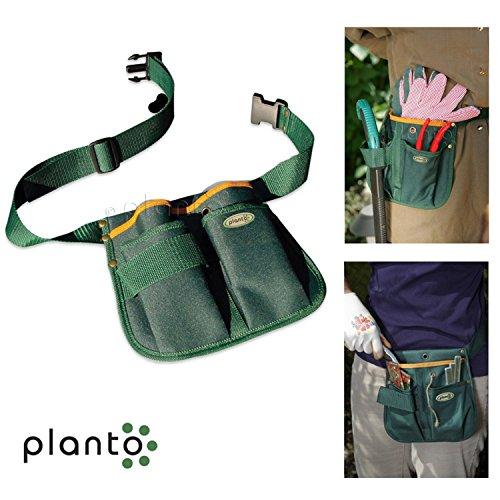 Unbekannt Gürteltasche | Gartengerätegürtel | Gartengeräte | Gartenschere | Hecken- und Astschere | Camping | Outdoor | 22 x 22 cm