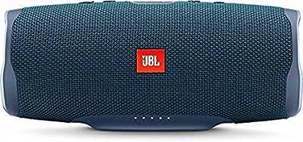 JBL Charge 4 Bluetooth-luidspreker, blauw, waterbestendig, draagbare boombox met geïntegreerde powerbank, met slechts...