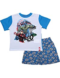 Marvel Avengers Rotary Short Sleeve Pyjamas By BestTrend