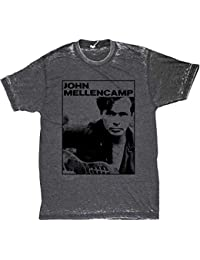 John Mellencamp Photo Men's Burnout T-Shirt