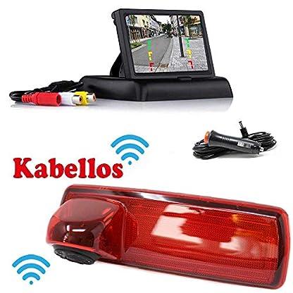 HSRpro-RFK-162-Kabellose-Funk-Rckfahrkamera-Kompatibilitts-Renault-Trafic-und-Opel-Vivaro-um-Ihr-Transporter-Wohnwagen-Wohnmobile-Bremslicht-zum-nachrusten-inkl-Monitor