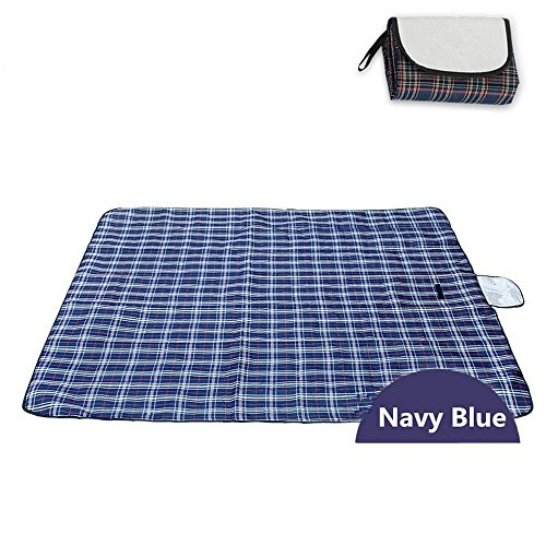 DOGYEARDAJI Picknick Im Grünen Matte Feuchtigkeit Resistent Portable Camping Zelt Beach Mat 150 X 180 Cm Marine - Acryl-marines Decke