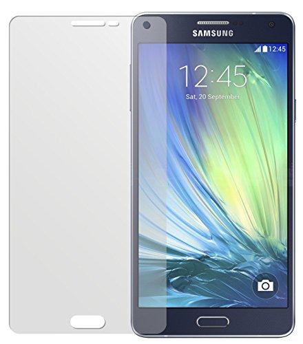 dipos Samsung Galaxy A7 (A700) Schutzfolie (2 Stück) - Antireflex Premium Folie matt