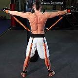 YNXing Corde de Musculation Pour la Boxe, le Basket-ball, L'escrime, Corde de Tension Bleue, Corde de Tension, Corde de Tension, équipement de Conditionnement Physique