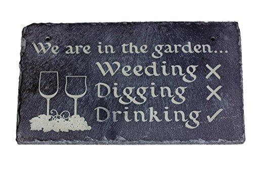 garden-slate-sign-drinking-gin-and-tonic-slate-plaque-garden-present-for-gardener-lawn-decoration-sl