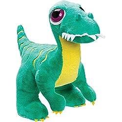 Suki Gifts Velociraptor de peluche de juguete, verde, tamaño mediano