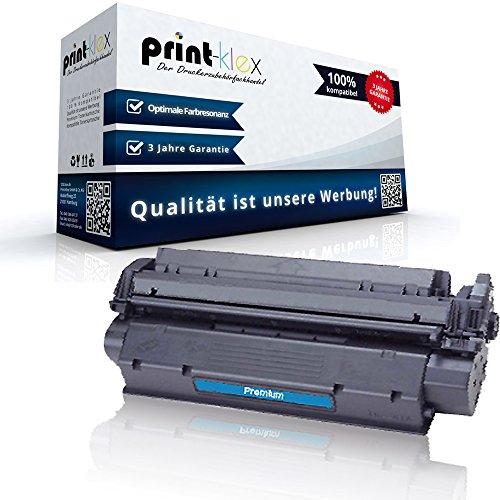 Print-Klex Kompatible Tonerkartusche für HP LaserJet 1000 LaserJet 1000 W LaserJet 1005 W LaserJet 1200 LaserJet 1200 N 15X C7115X HP15X HP 15X HP15 Black Schwarz - Office Pro Serie