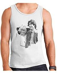 John Travolta Olivia Newton John Grease Release UK 1978 MenS Vest
