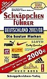 Schnäppchenführer Fabrikverkauf Deutschland 2007 /2008: Mit Gratis-Buch Norditalien - Mit Einkaufsgutscheinen im Wert von 2000 EURO. - Heinz Waldmüller