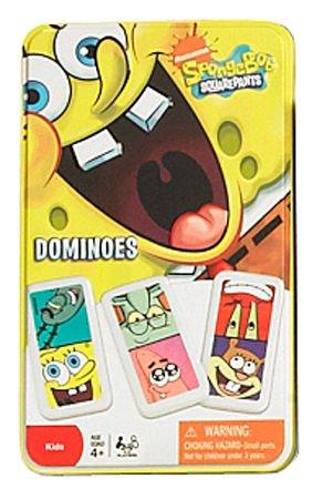 SpongeBob Squarepants Dominoes Game In Tin