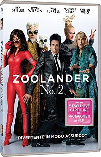 Zoolander 2 Edizione con 5 Cartoline da Collezione