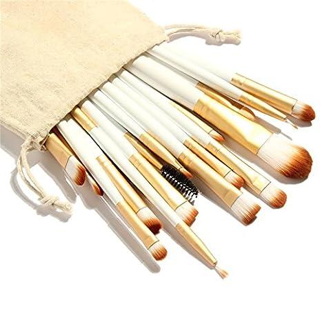 Beau Belle Make Up Pinsel - Pinsel - Pinselset - Pinselset Kosmetik - Make Up Pinsel - Pinsel Kosmetik - Make Up Set - Make Up Pinselset - Makeup Brush - Schminke Set Profi - Profi Make Up - Kosmetik