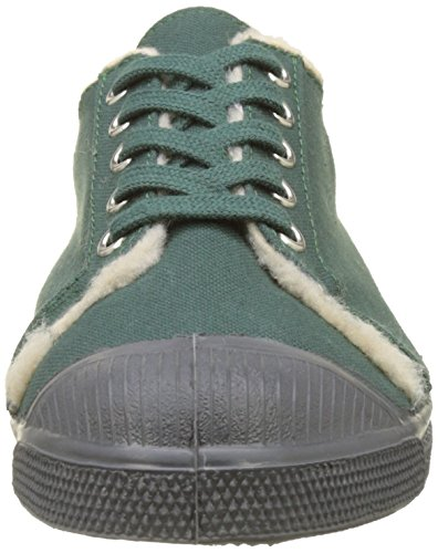 Bensimon Damen Tennis Kelly Fourree Sneakers Grün (Vert)