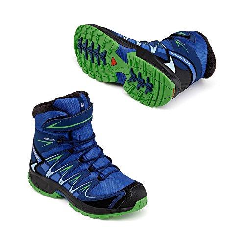 Salomon XA PRO 3D WINTER TS CSWP boots d'hiver enfant Bleu