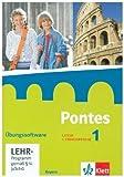 Pontes 1. Ausgabe Bayern: �bungssoftware mit Vokabeltrainer, CD-ROM 1. Lernjahr (Pontes. Ausgabe f�r Bayern. 1. Fremdsprache ab 2017) medium image