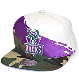 Gorras Milwaukee Bucks Hwc Paintbrush Camo Snapback - Mitchell & Ness