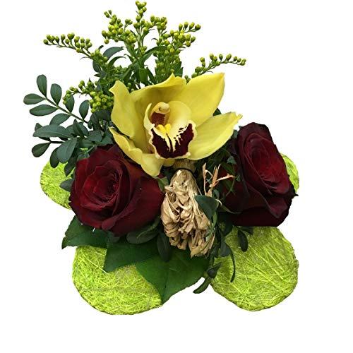 VERSANDKOSTENFREI Blumenstrauß Exotic Number 2 + kostenlose Glückwunschkarte Blumenversand