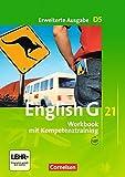 English G 21 - Erweiterte Ausgabe D / Band 5: 9. Schuljahr - Workbook mit Audios online: Mit Wörterverzeichnis zum Wortschatz der Bände 1-5 - Jennifer Seidl