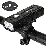 IPSXP Bike Light, USB Rechargeable Bicycle Cycling Headlight Bicycle Front Light Mountain Bike