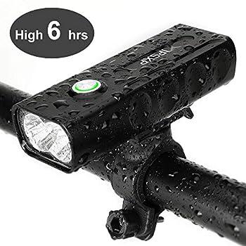 IPSXP Luz de Bicicleta USB...